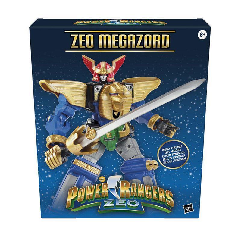 Zeo Megazord Front