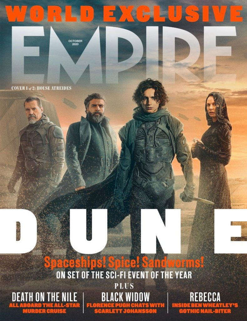 Empire Releases Stunning New Dune Images Ahead of 1st Trailer Release - The Illuminerdi