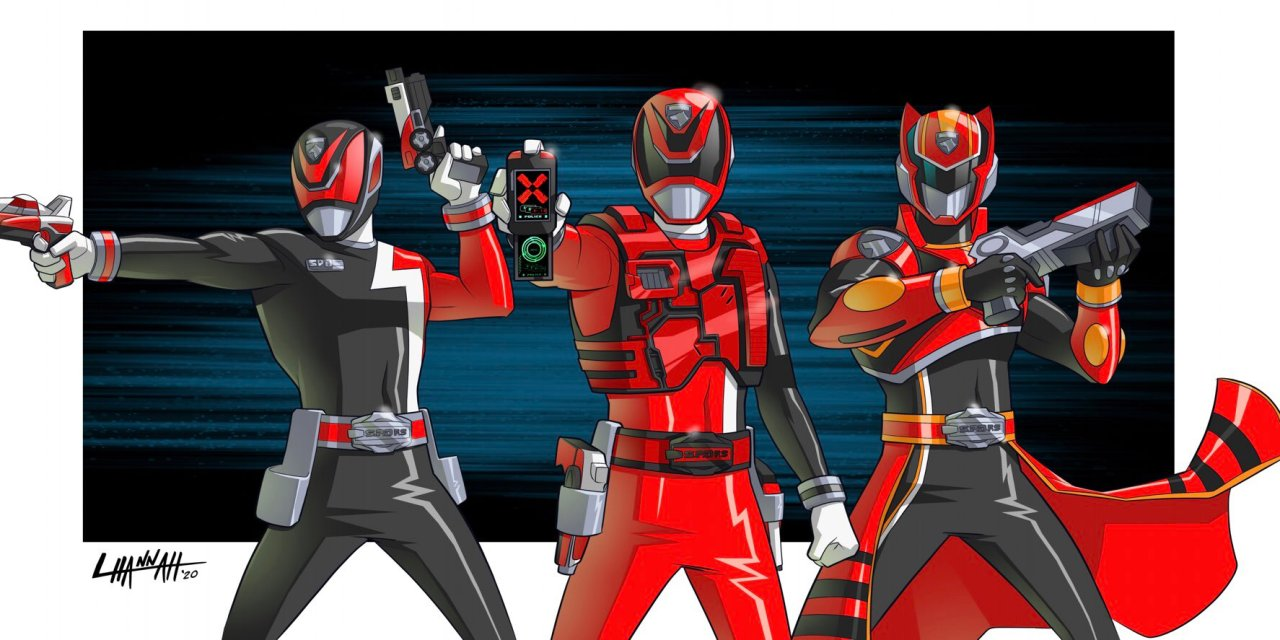 An Unreleased SPD Fire Squad Concept Was Revealed By Jason Bischoff, Former Global Franchise Director for Power Rangers