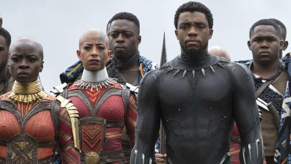 Infinity War Chadwick Boseman Black Panther Okoye