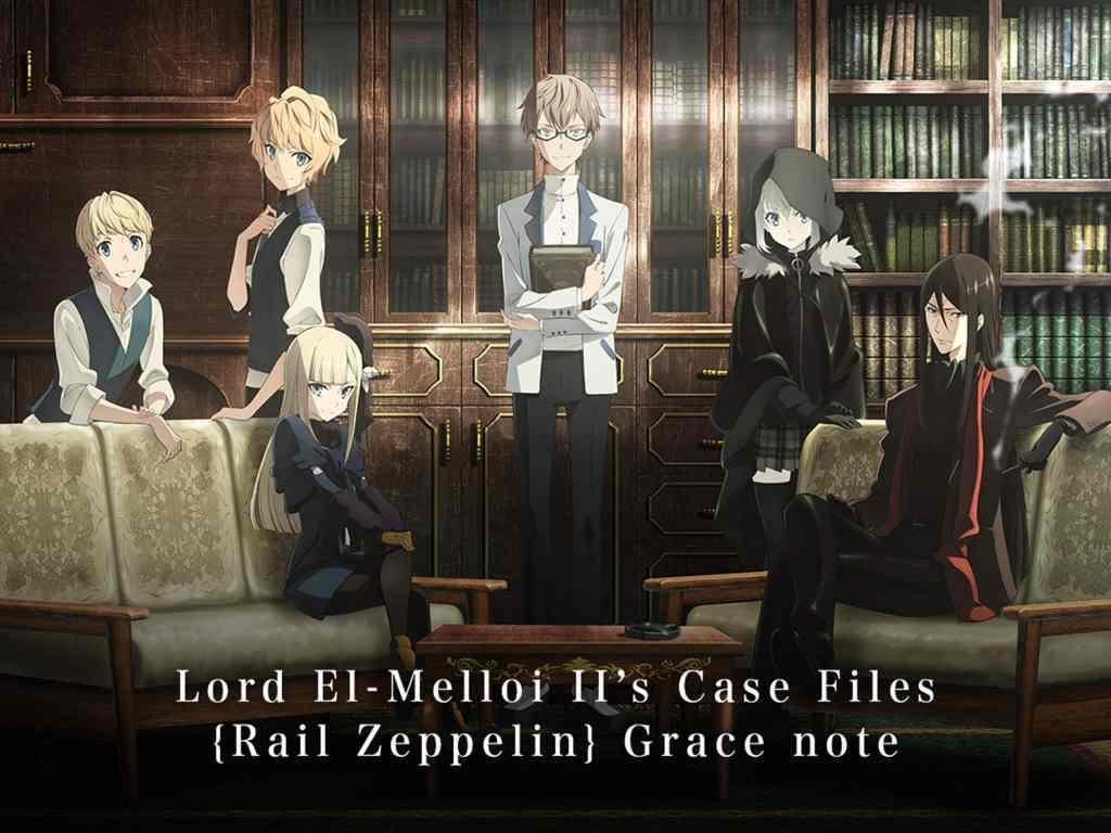 Aniplex of America is Releasing Lord El-Melloi II Case Files {Rail Zeppelin} Grace note Complete Blu-ray Box Set On 12/15/20 - The Illuminerdi