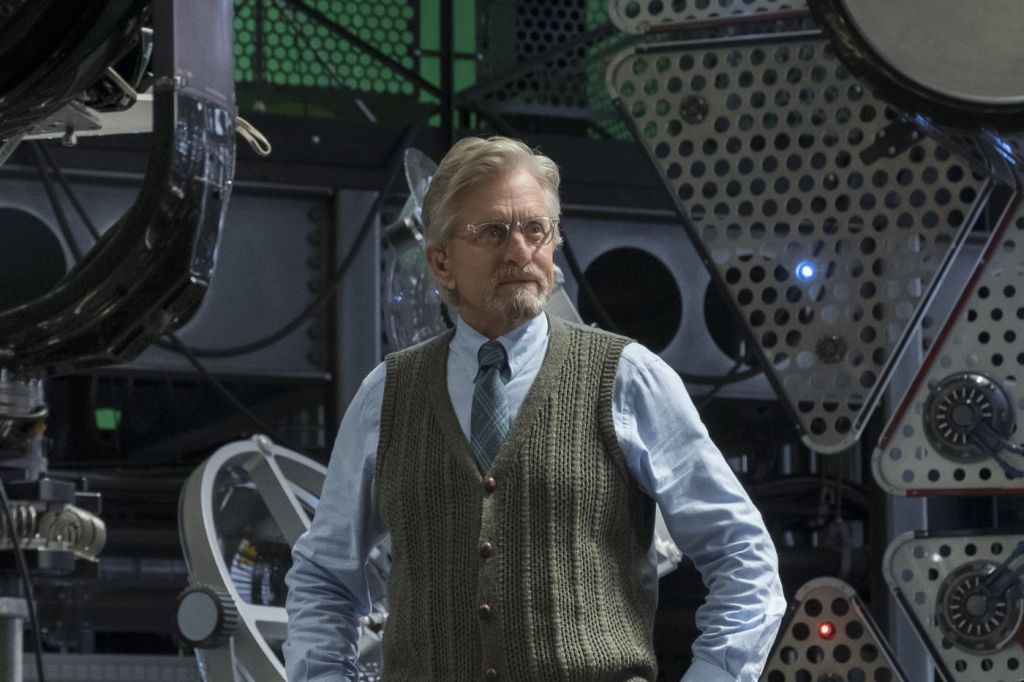 Ant-Man and the Wasp Hank Pym Michael Douglas
