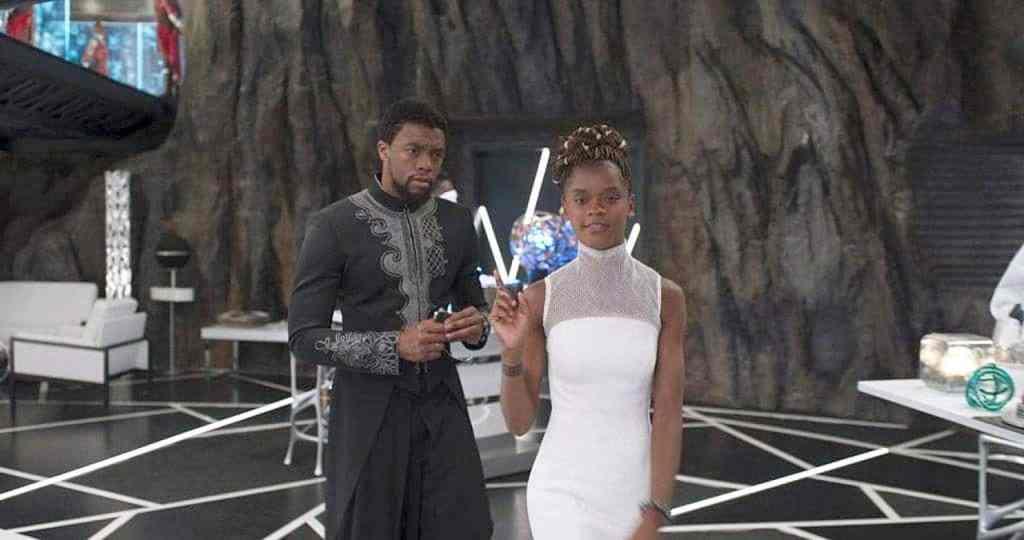 Black Panther Shuri T'Challa Letitia Wright Chadwick Boseman