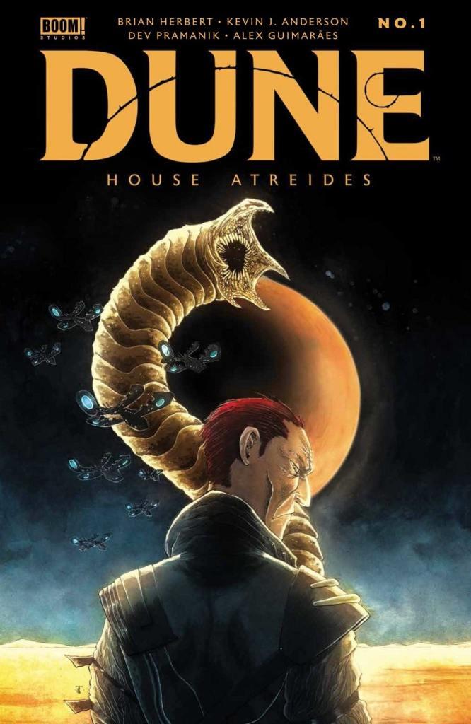 Dune: House Atreides #1 full cover Boom Studios