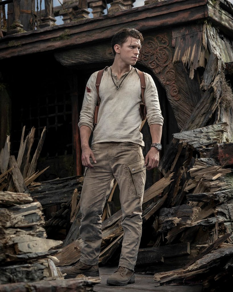 Uncharted Movie Tom Holland Nathan Drake Official