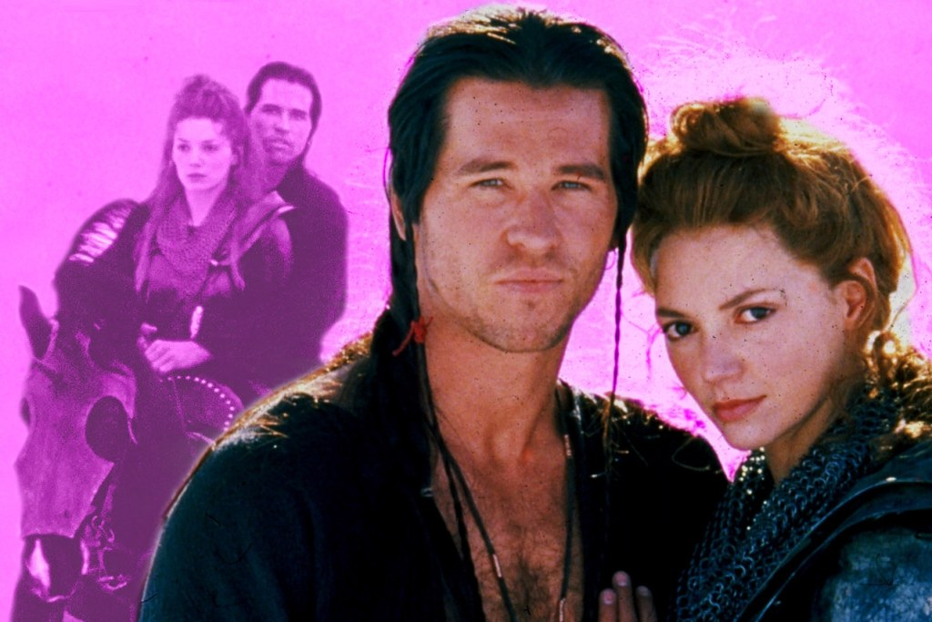 Willow Madmartigan (Val Kilmer) and Sorsha (Joanne Whalley)