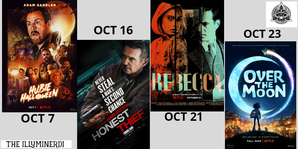 New October Movies In 2020 You Don't Want To Miss