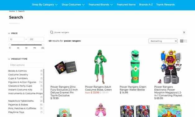 The Illuminerdi's Top  Power Rangers Picks From Toynk
