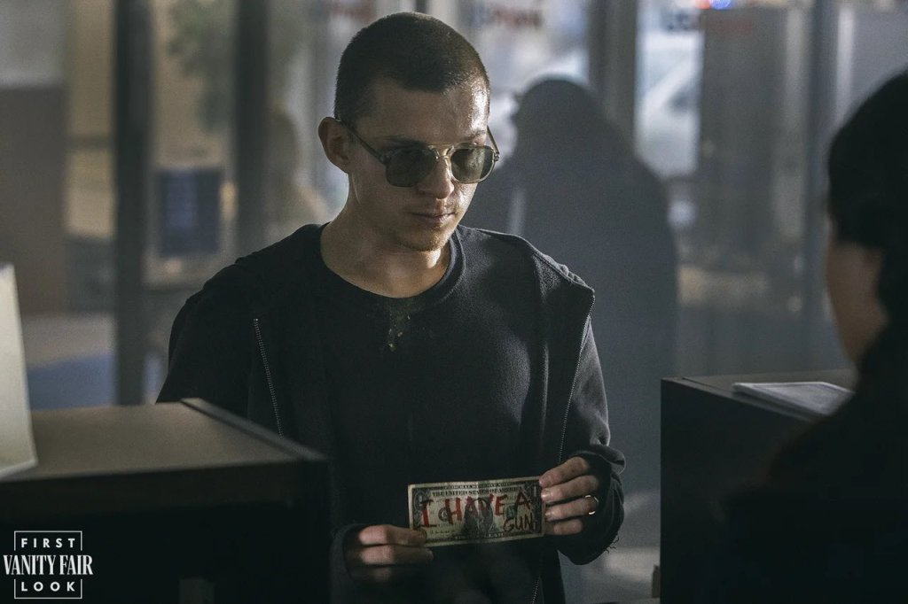 First Images of Tom Holland as Nico Walker in Cherry Released - The Illuminerdi