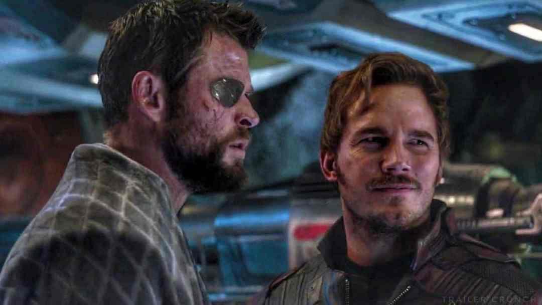 Chris Pratt Avengers: Endgame Thor: Love and Thor