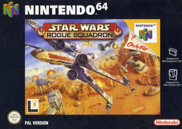 Star Wars Rogue Sqaudron N64