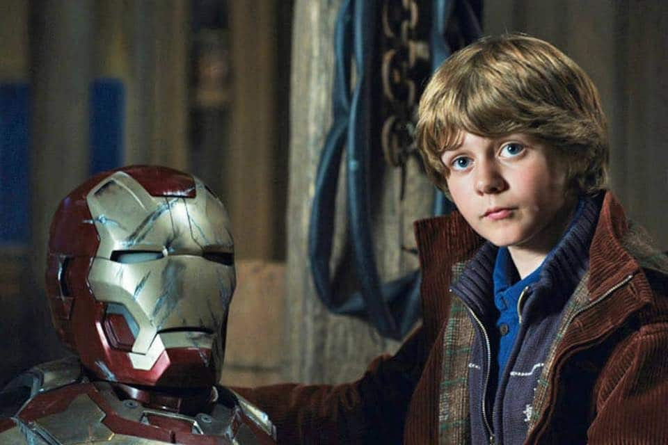 Ty Simpkins Iron Man 3 Iron Lad David Dobrik?