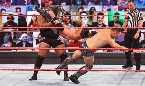 WWE Keith Lee, John Morrison and Miz