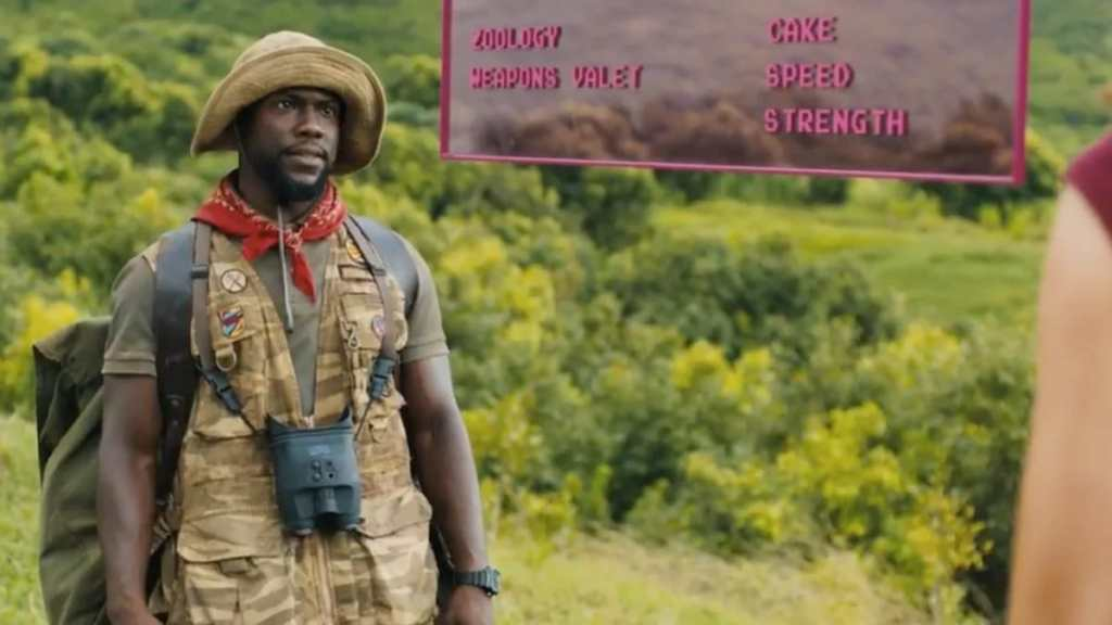 Kevin Hart Jumanji Borderlands Roland