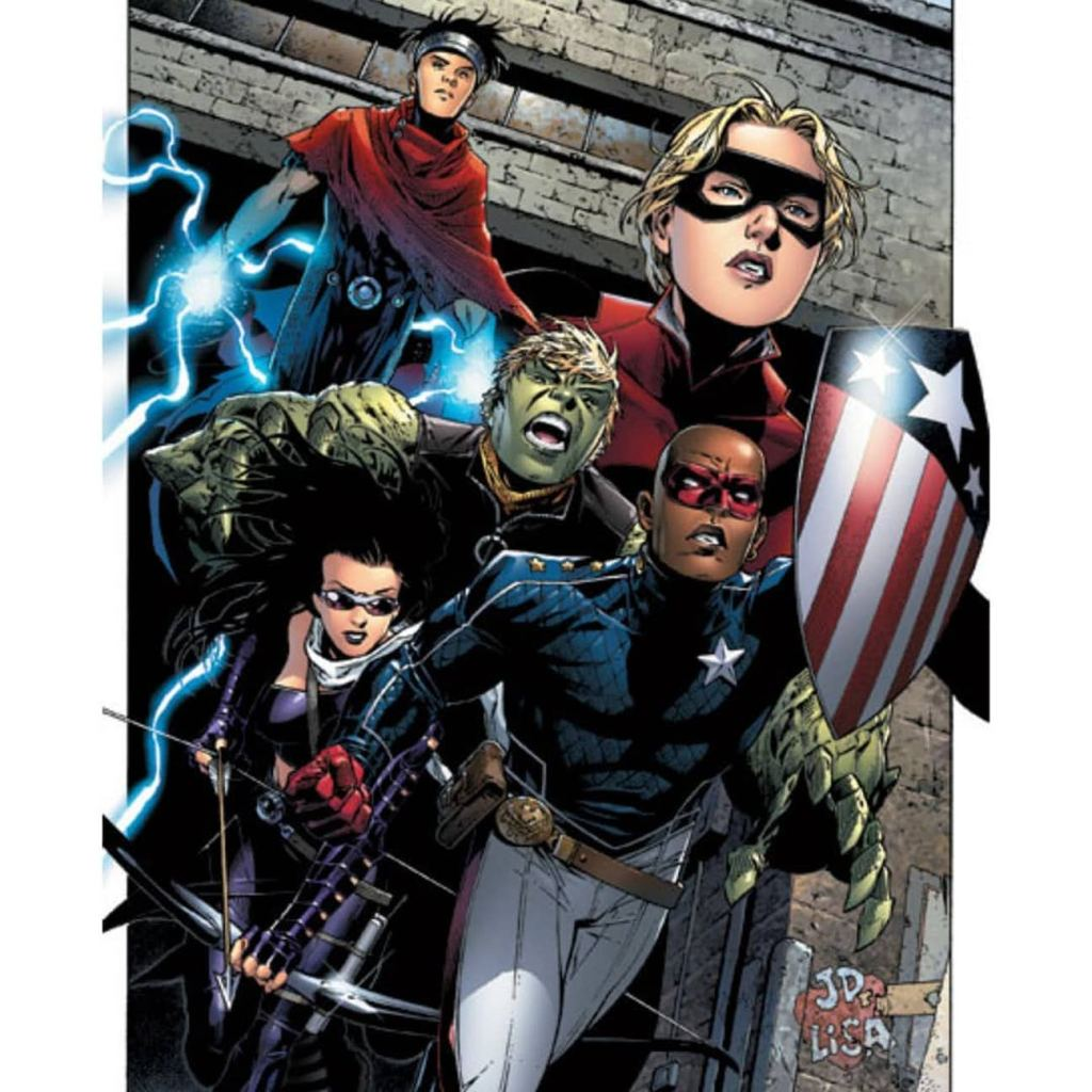 Young Avengers Stature Patriot