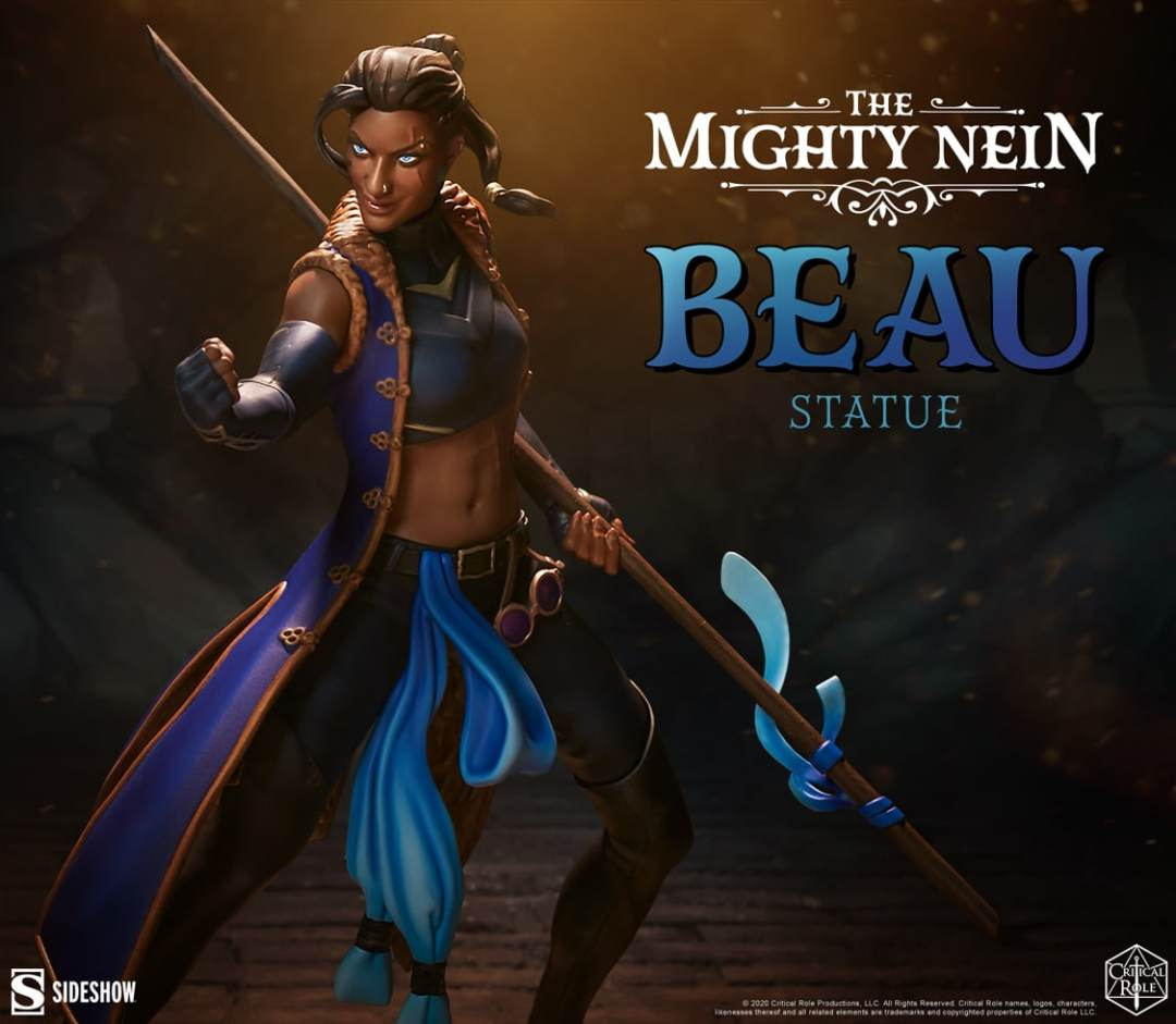critical-role-sideshow-collectibles-beau-statue