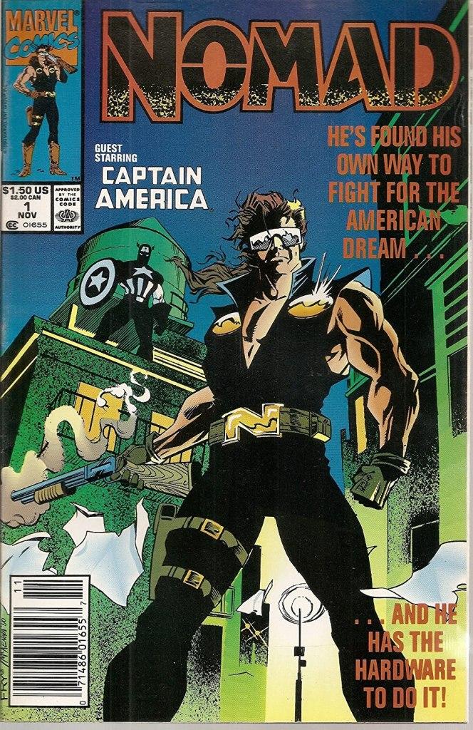 Nomad Marvel Comics