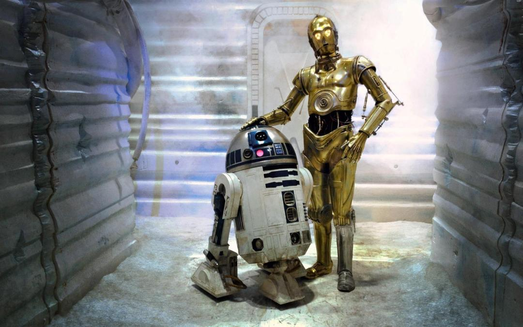 C3PO and R2D2 A Droid Story