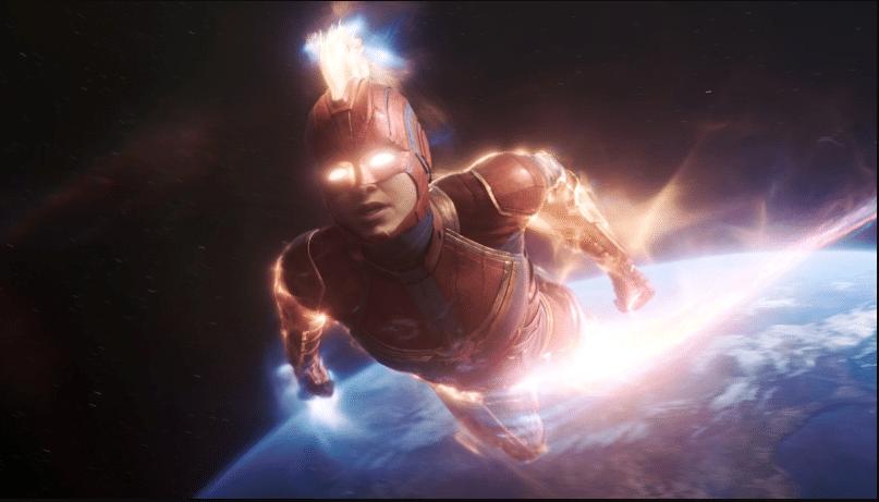 Captain Marvel Thor: Love and Thunder