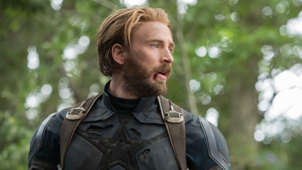 Chris Evans Captain America Avengers: Infinity War