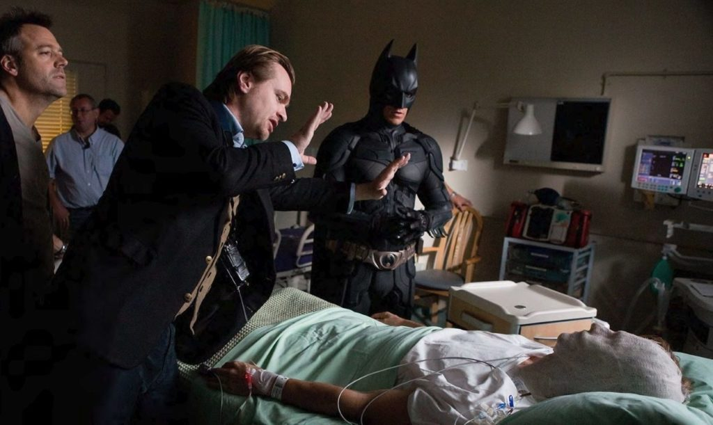 Christopher Nolan Batsignal The Dark Knight