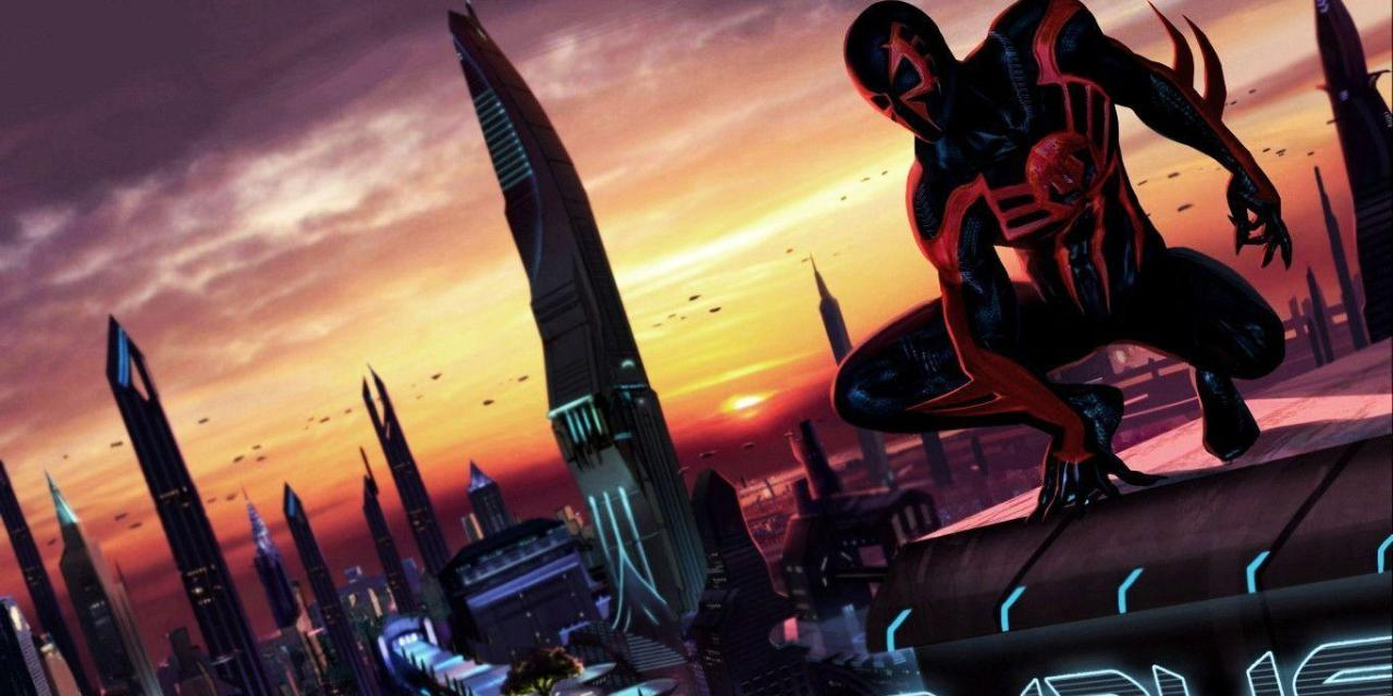 Into The Spider Verse 2: New Images Of Spider-Man 2099 Revealed
