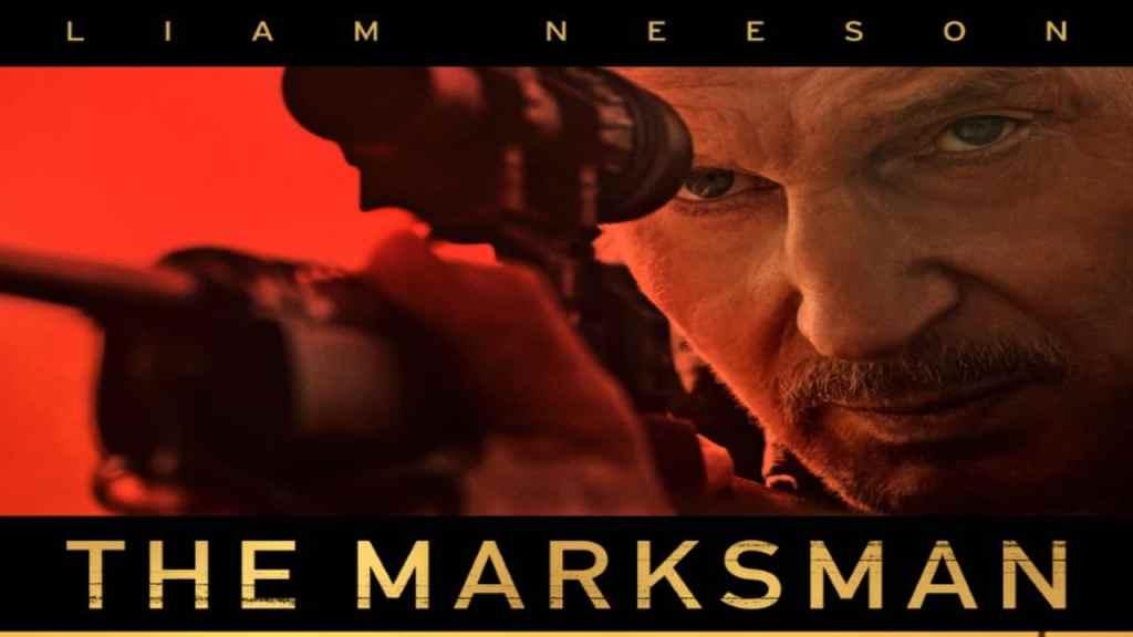 The Marksman banner Robert Lorenz