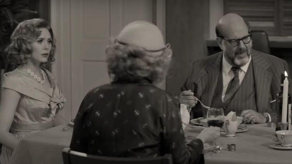 WandaVision Hart dinner