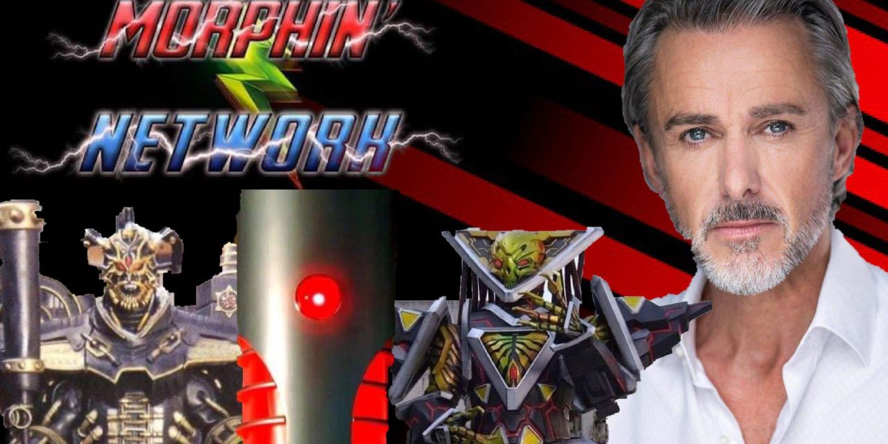 Ranger Spotlight: Andrew Laing Reveals He Used An Anagram While Voicing Evox In Power Rangers Beast Morphers