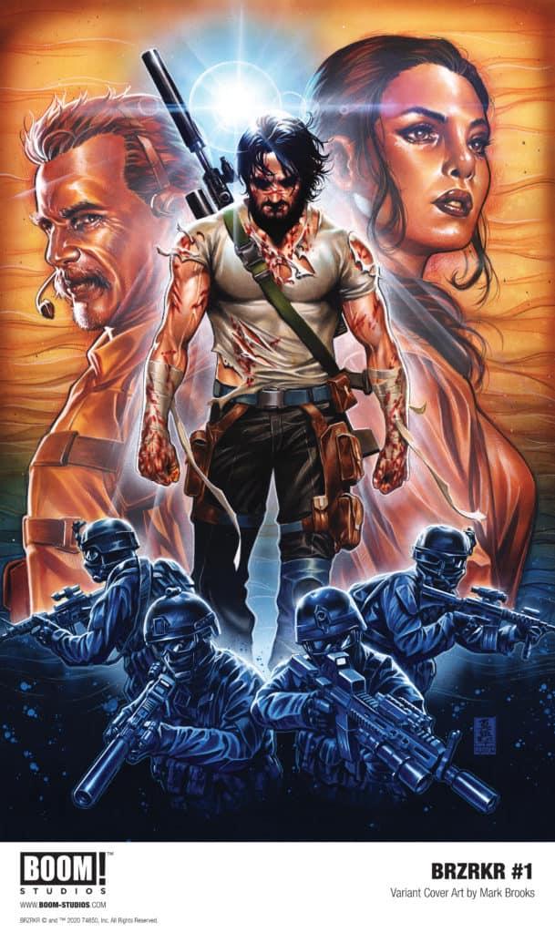 BRZRKR Boom Comics Keanu Reeves