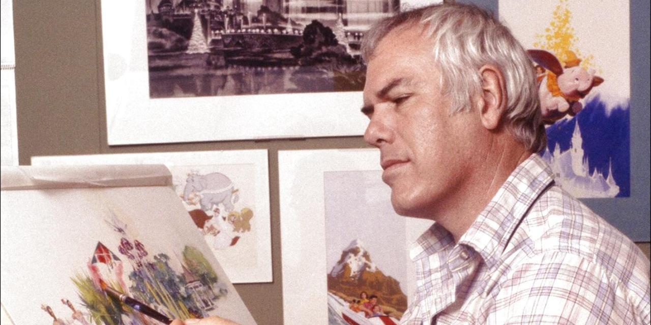 Remembering Disney Legend, Charles Boyer, Disneyland's Master Illustrator