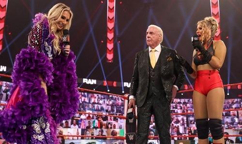 WWE Charlotte, Ric, Evans