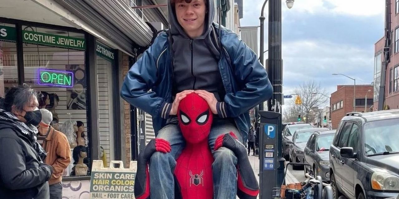 Spider-Man 3: Tom Holland Shares New Set Photo And Promise Of A New Spidey Tease Thursday