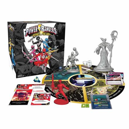 Power Rangers: Heroes of the Grid Has New Expansions Teased At Renegade Con - The Illuminerdi