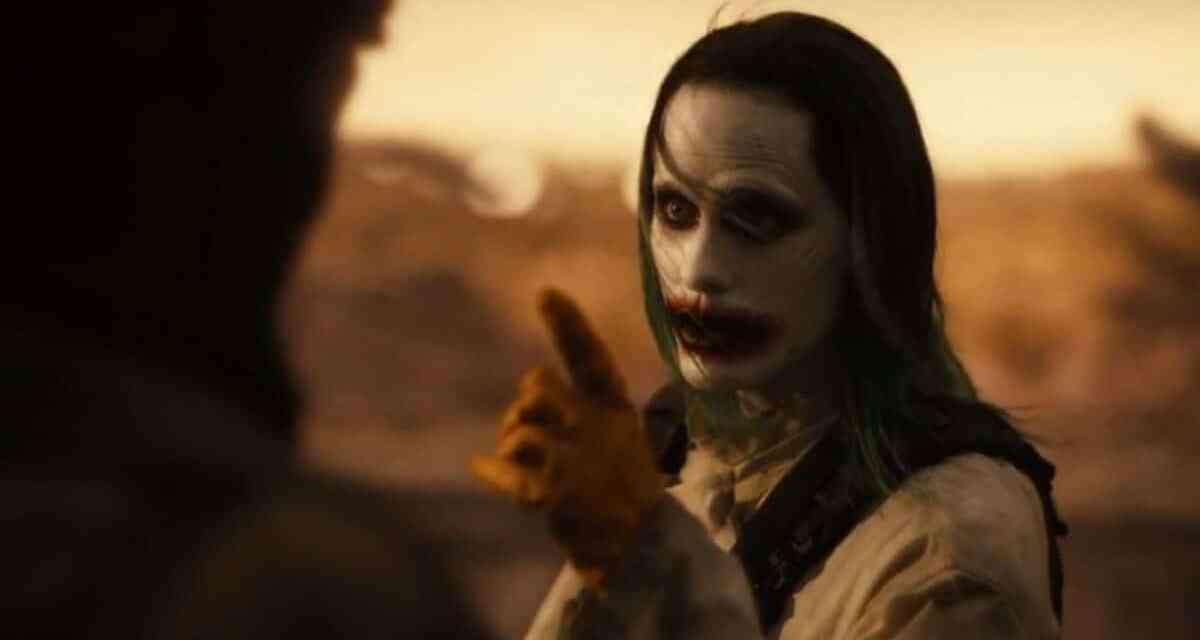 """Jared Leto Ad-Libbed """"We Live In a Society"""" Line From Justice League Trailer"""