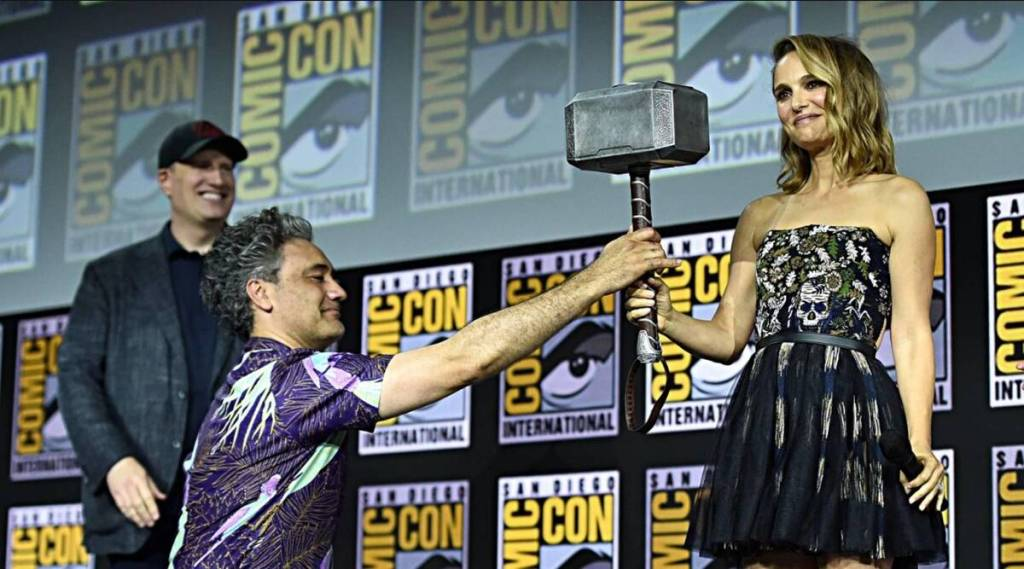 thor: love and thunder comic con 2019