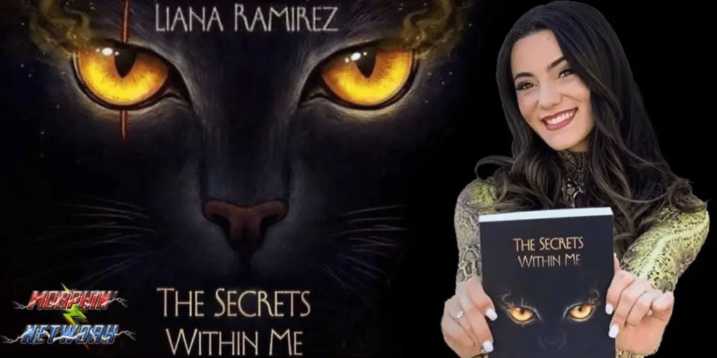 "Ranger Spotlight: Beast Morphers Star Liana Ramirez Talks About Her Novel ""The Secrets Within Me"""
