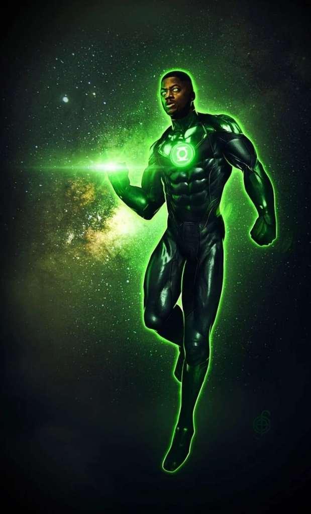 Zack Snyder Justice League Green Lantern Concept Art John Stewart