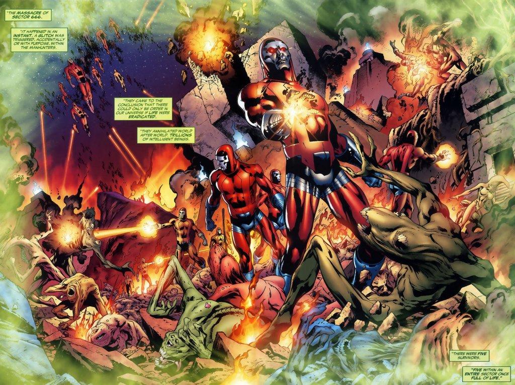 Green Lantern Corps Manhunters DC