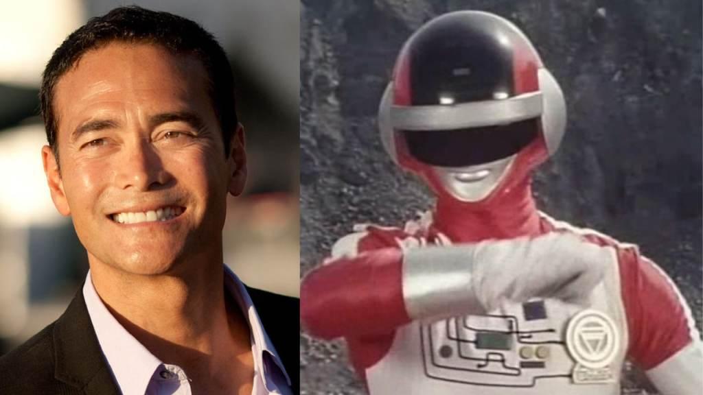 Mark Dacascos Red Bioman Ranger - legend of the white dragon