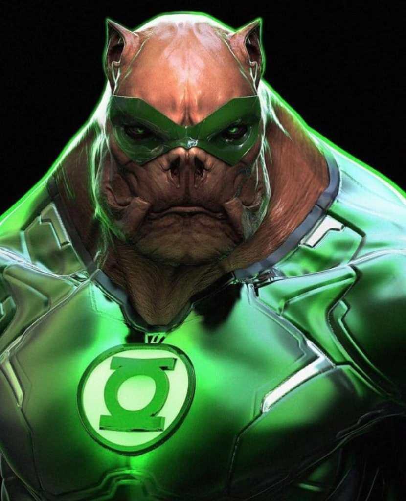 Zack Snyder Justice League Green Lantern Concept Art Kilowog