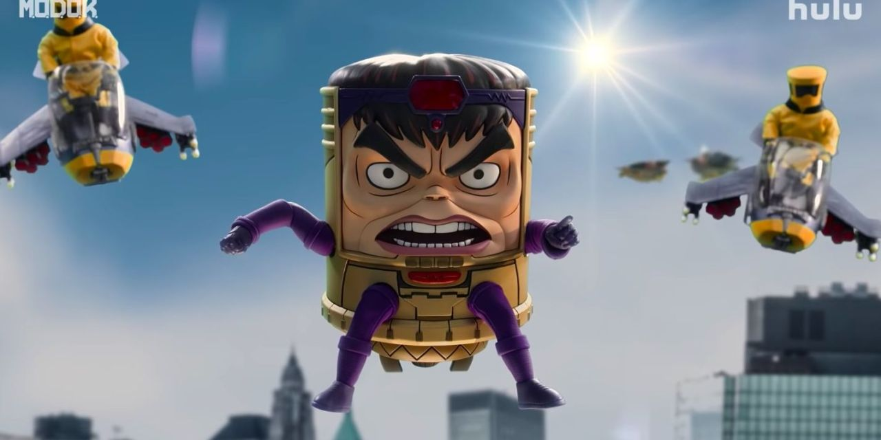 Hulu Releases the Official Trailer for Marvel's MODOK