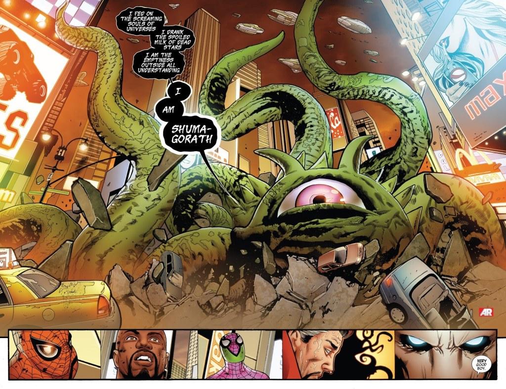 Shuma Gorath Doctor Strange In the Multiverse of Madness