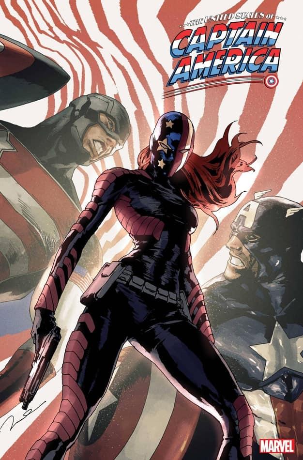 Marvel Captain America comic