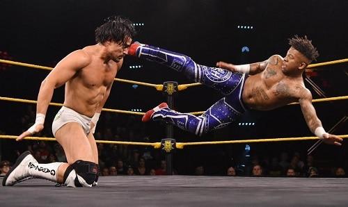 WWE Lio Rush