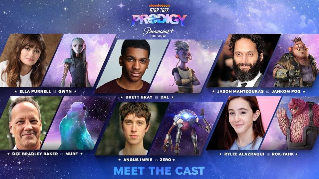 The Star Trek Prodigy Voice Cast