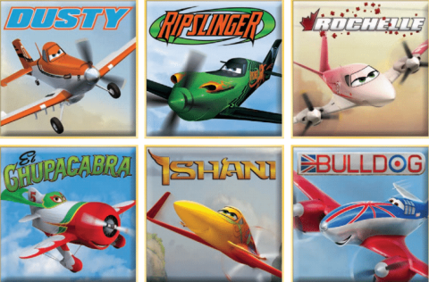 cars - planes characters