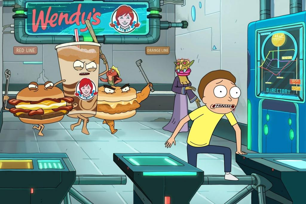 Rick and Morty Wendy's