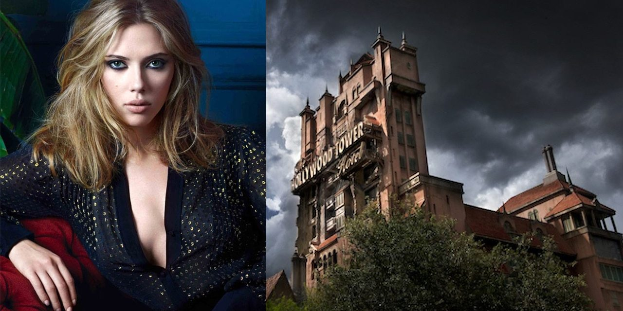 Scarlett Johansson Set to Board Disney's Tower of Terror Movie