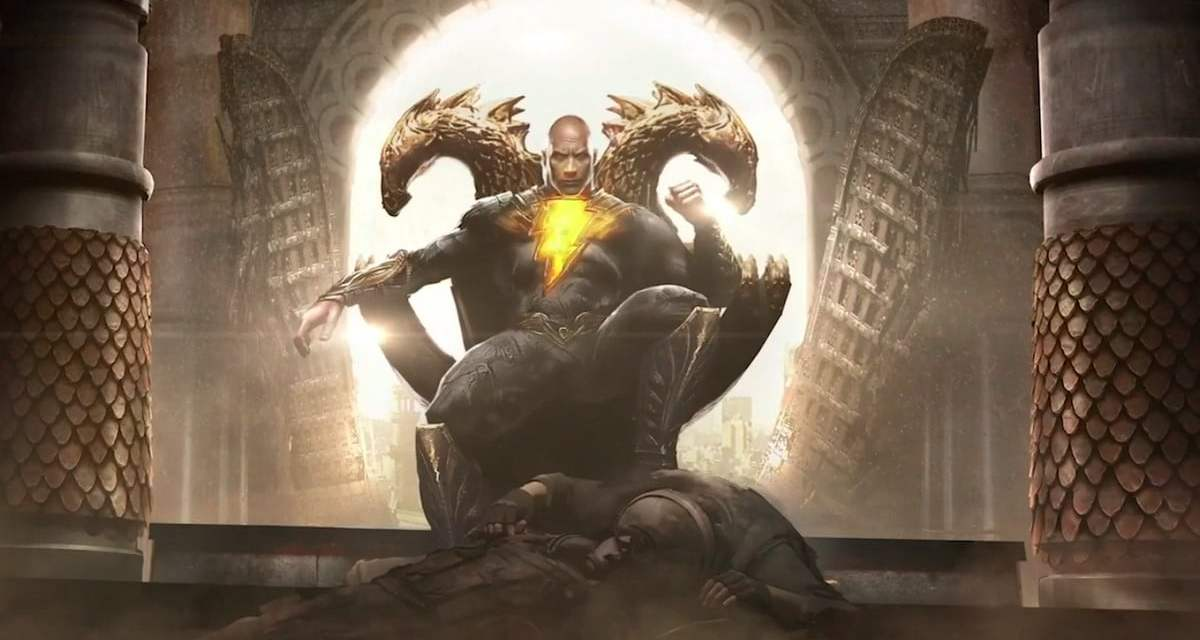 Dwayne Johnson Shares Another New Black Adam Set Photo In The Suit